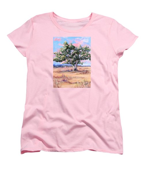 Lone Oak Women's T-Shirt (Standard Cut) by Barbara O'Toole