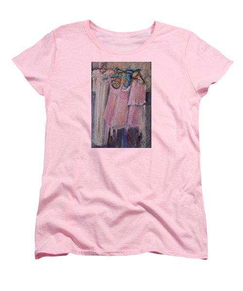 Long Ago Lingerie  Women's T-Shirt (Standard Cut)