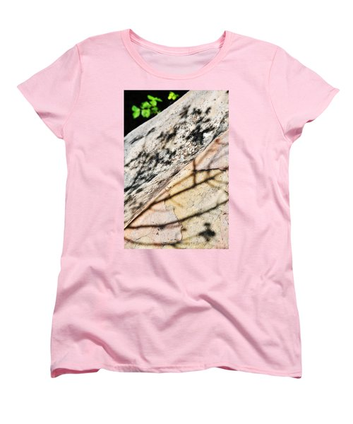Women's T-Shirt (Standard Cut) featuring the photograph Los Padres Stone by Kyle Hanson