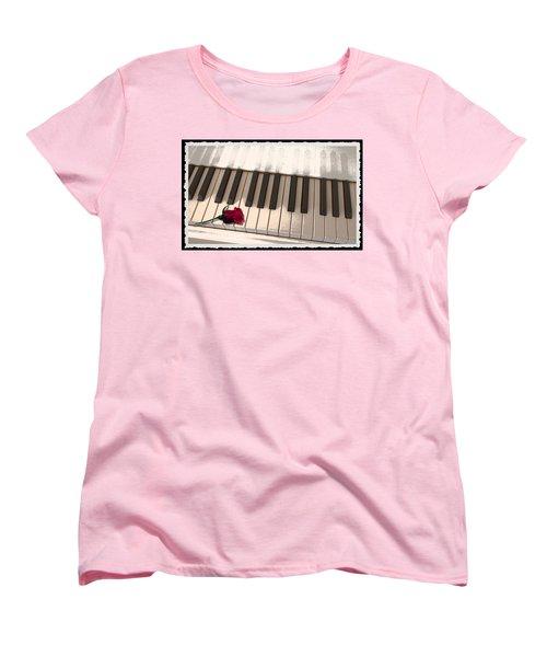 Love Notes Women's T-Shirt (Standard Cut)