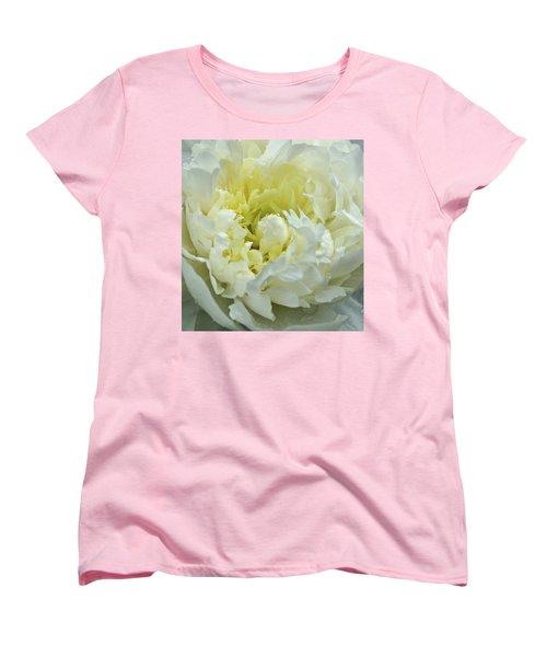 Women's T-Shirt (Standard Cut) featuring the photograph Lovely Peony by Sandy Keeton