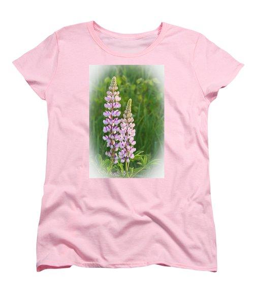 Lupine Pair Women's T-Shirt (Standard Cut)