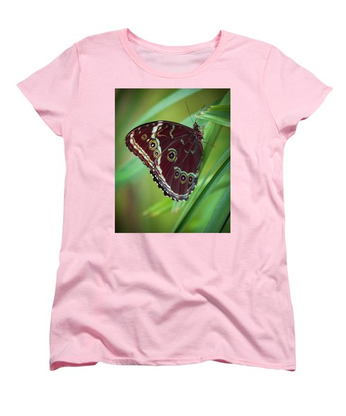 Women's T-Shirt (Standard Cut) featuring the photograph Majesty Of Nature by Karen Wiles