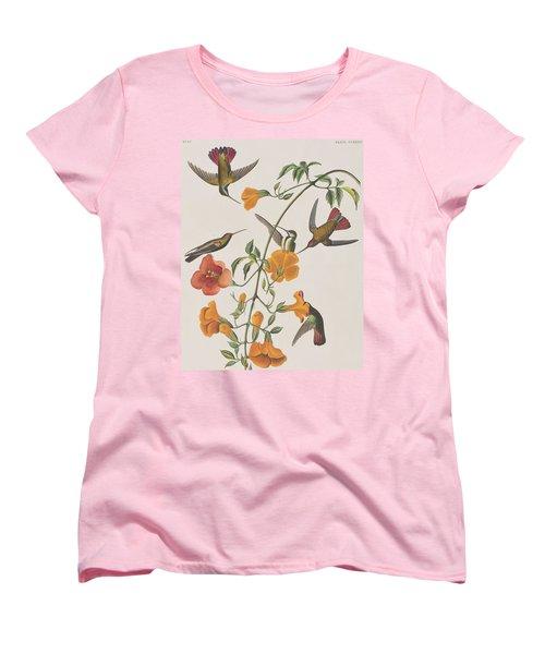 Mango Humming Bird Women's T-Shirt (Standard Cut) by John James Audubon