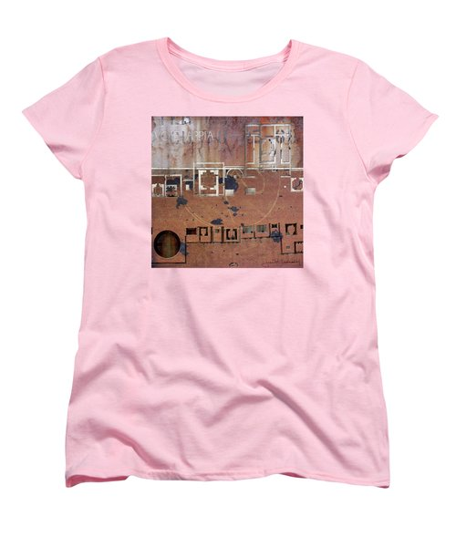 Maps #19 Women's T-Shirt (Standard Cut) by Joan Ladendorf