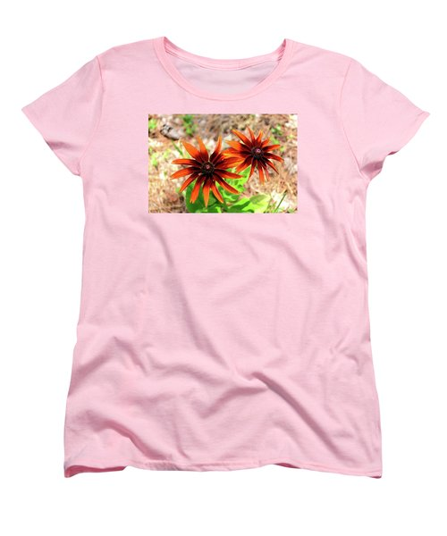 Women's T-Shirt (Standard Cut) featuring the photograph Masked by Larry Bishop
