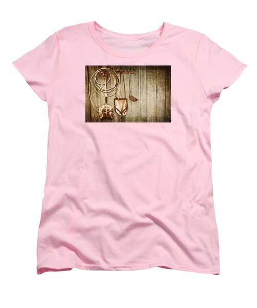Women's T-Shirt (Standard Cut) featuring the photograph Memories Of Grandpa by Carolyn Marshall