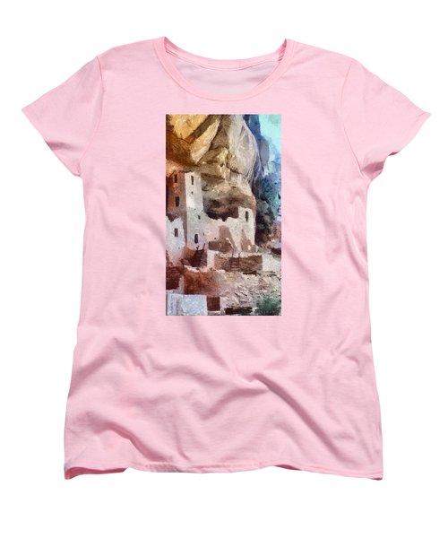 Mesa Verde Women's T-Shirt (Standard Cut) by Jeff Kolker