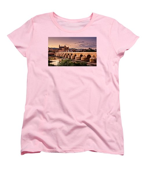 Mezquita In The Evening Women's T-Shirt (Standard Cut) by Marion McCristall