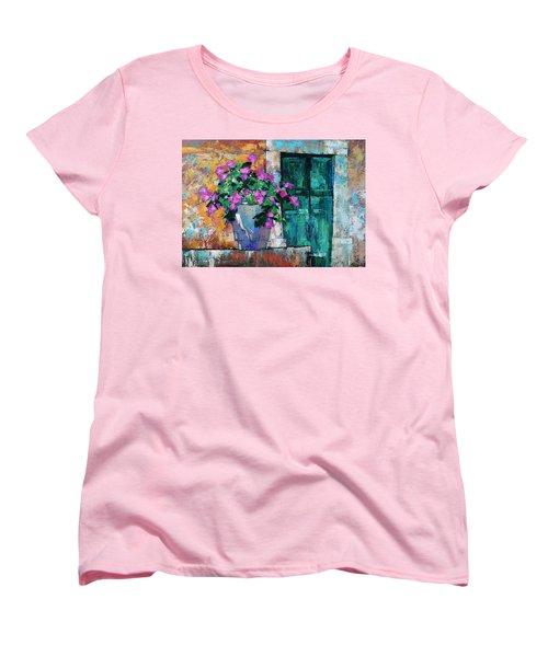 Mid Summer Women's T-Shirt (Standard Cut) by Anastasija Kraineva