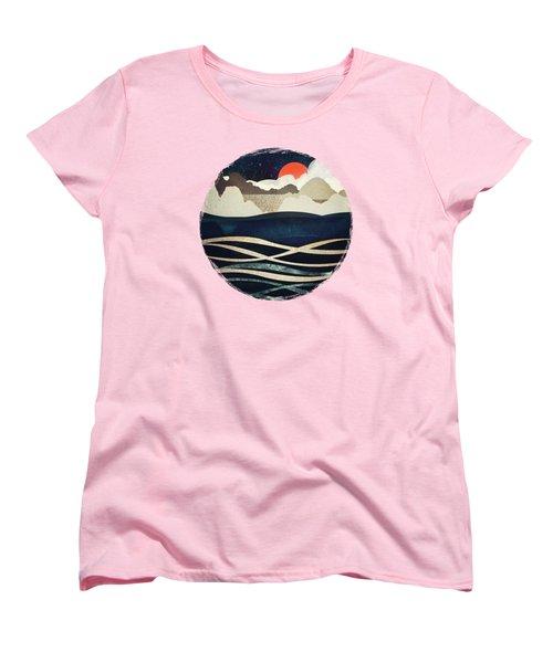 Midnight Beach Women's T-Shirt (Standard Fit)