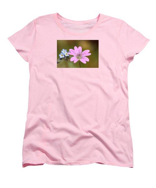 Minature World Women's T-Shirt (Standard Cut) by Richard Patmore