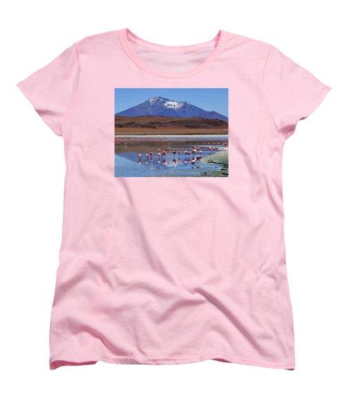 Women's T-Shirt (Standard Cut) featuring the photograph Mirage by Skip Hunt