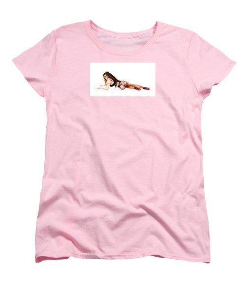 Mistress Eve Women's T-Shirt (Standard Cut) by Brian Gibbs
