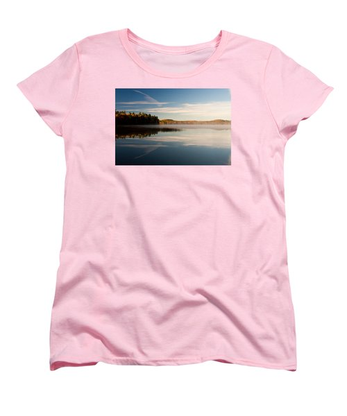 Misty Morning Women's T-Shirt (Standard Cut) by Brent L Ander