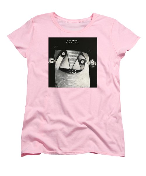 Mmxvii Masks For Despair No 3  Women's T-Shirt (Standard Cut)