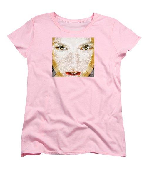 Monkey Glows Women's T-Shirt (Standard Cut) by Catherine Lott
