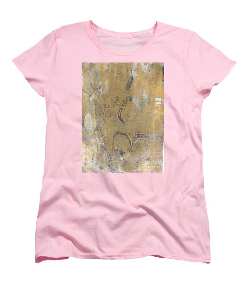 Women's T-Shirt (Standard Cut) featuring the drawing Mono Print 003 - I Am Not Art by Mudiama Kammoh