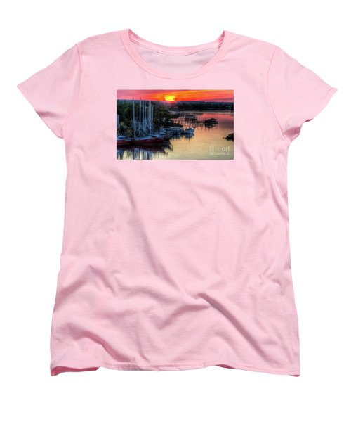 Women's T-Shirt (Standard Cut) featuring the photograph Morning Bliss by Maddalena McDonald