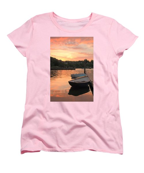 Morning Calm Women's T-Shirt (Standard Cut) by Roupen  Baker