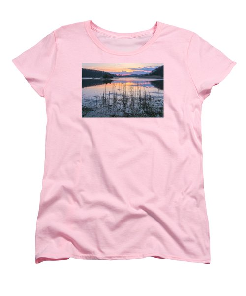 Morning Calmness Women's T-Shirt (Standard Cut) by Angelo Marcialis