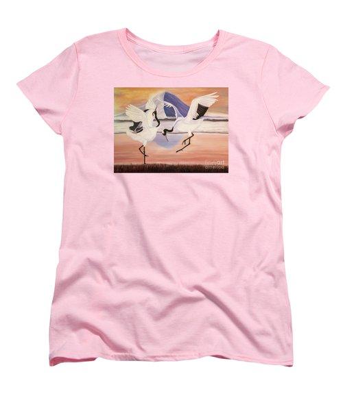 Morning Dance Women's T-Shirt (Standard Cut) by Jane Axman
