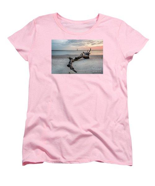 Morris Island Women's T-Shirt (Standard Cut) by Robert Loe