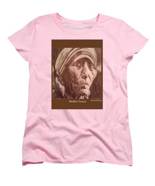 Mother Teresa  Women's T-Shirt (Standard Cut) by Gavin Dorsey