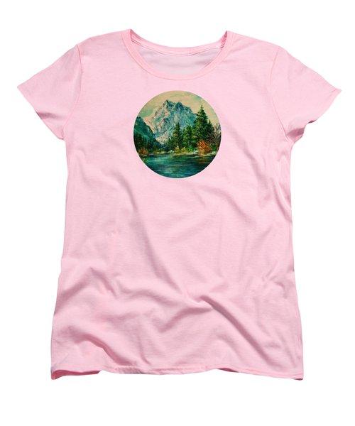 Mountain Lake Women's T-Shirt (Standard Cut)