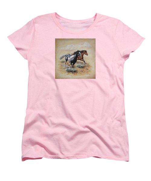 Mustang Glory Women's T-Shirt (Standard Cut)