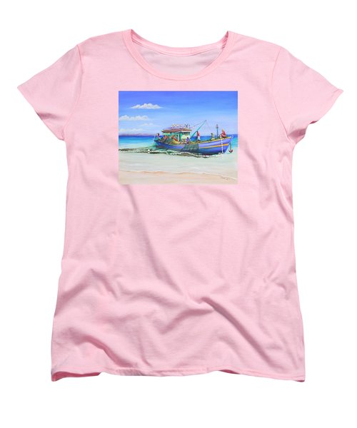 Mv Alice Mary Women's T-Shirt (Standard Cut) by Patricia Piffath