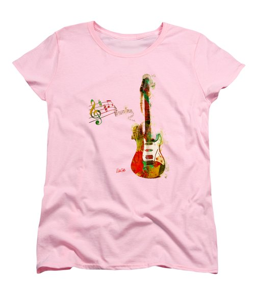 My Guitar Can Sing Women's T-Shirt (Standard Cut) by Nikki Smith