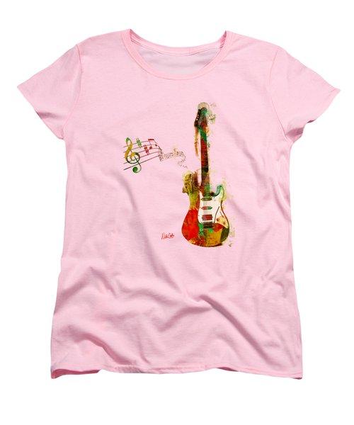 My Guitar Can Sing Women's T-Shirt (Standard Cut)