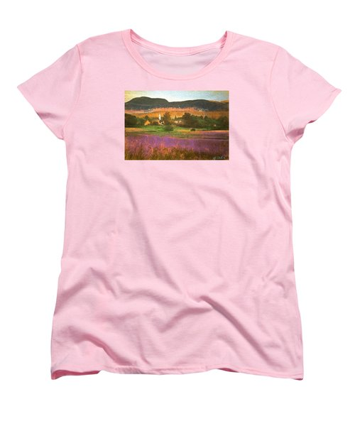 N. Troy Vt. Women's T-Shirt (Standard Cut) by John Selmer Sr