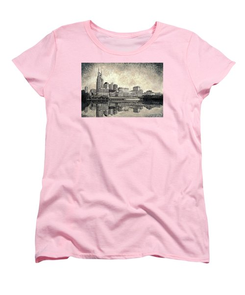 Nashville Skyline II Women's T-Shirt (Standard Cut)