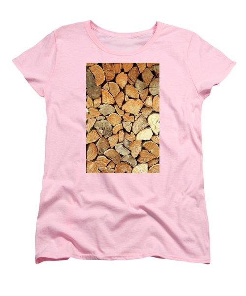 Natural Wood Women's T-Shirt (Standard Fit)