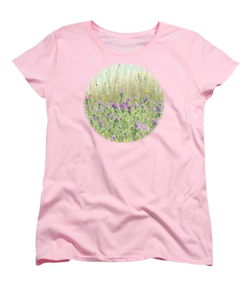 Women's T-Shirt (Standard Cut) featuring the photograph Nature's Graffiti by Linda Lees