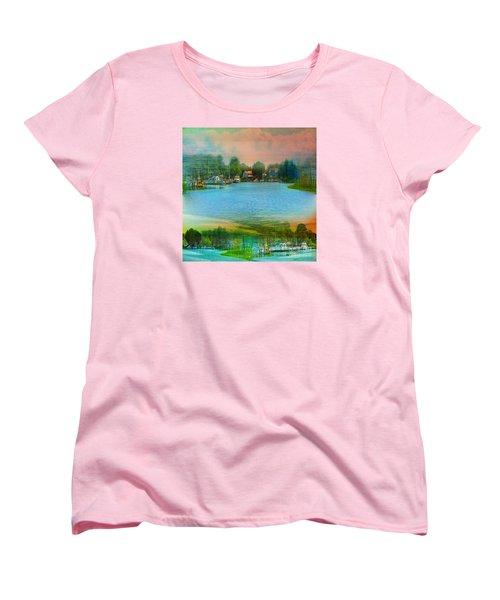 Nature's Magical Sunsets Women's T-Shirt (Standard Cut) by Judy Palkimas