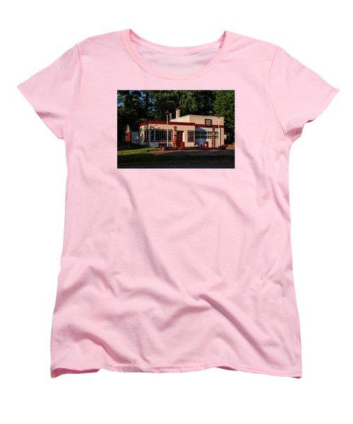 Nelsonville Phillips 66 Women's T-Shirt (Standard Cut) by Trey Foerster
