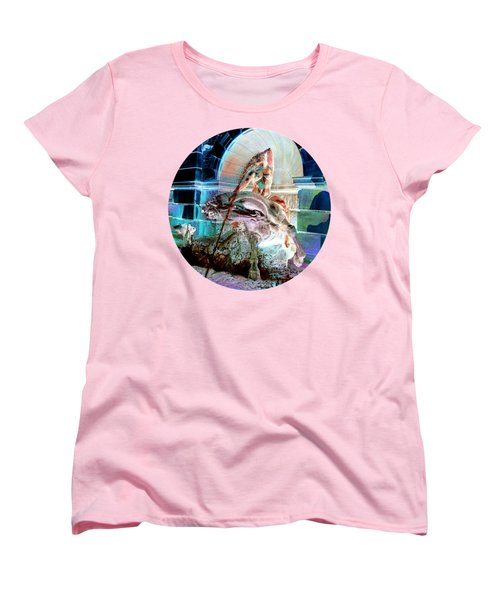 Neptune Nymph 3 Women's T-Shirt (Standard Cut) by Robert G Kernodle