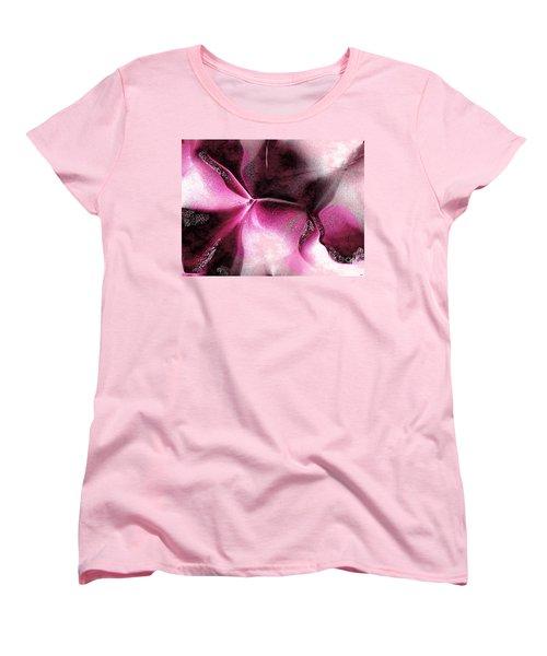 Women's T-Shirt (Standard Cut) featuring the digital art Desire by Yul Olaivar