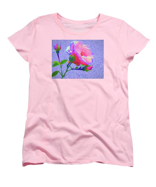 New Dawn Painterly Women's T-Shirt (Standard Cut) by Susan Lafleur