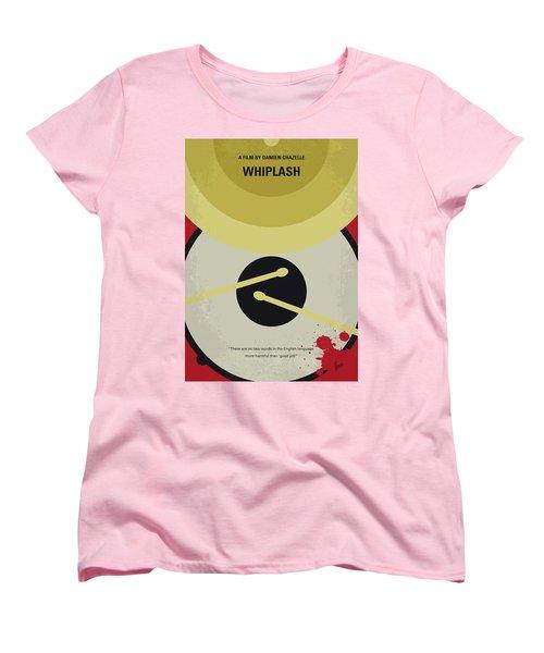 Women's T-Shirt (Standard Cut) featuring the digital art No761 My Whiplash Minimal Movie Poster by Chungkong Art