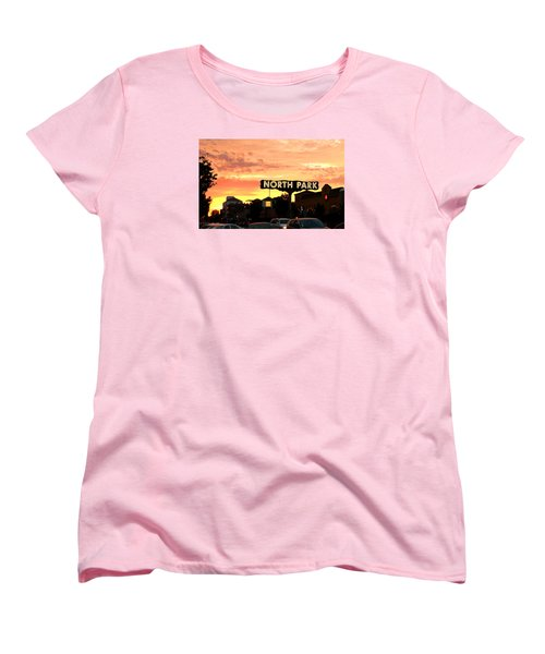 San Diego North Park Sun Women's T-Shirt (Standard Cut) by Christopher Woods