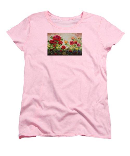 Oil Msc 060 Women's T-Shirt (Standard Cut) by Mario Sergio Calzi
