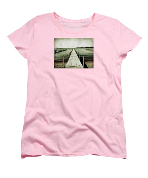 Okoboji Docks Women's T-Shirt (Standard Cut)