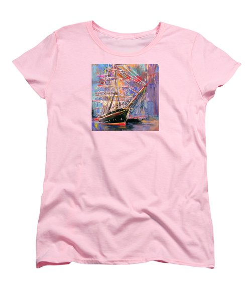 Old Ship 226 4 Women's T-Shirt (Standard Cut) by Mawra Tahreem