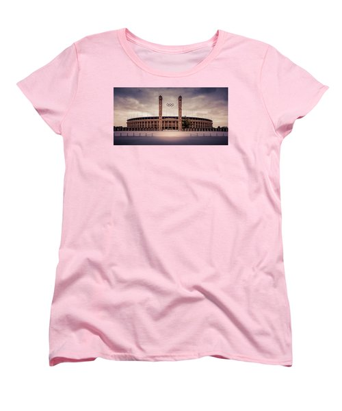 Olympic Stadium Berlin Women's T-Shirt (Standard Cut) by Stavros Argyropoulos