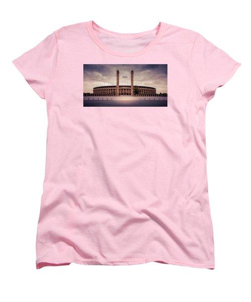 Olympic Stadium Berlin Women's T-Shirt (Standard Cut)