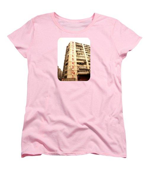 Women's T-Shirt (Standard Cut) featuring the photograph On A Dozen Different Levels by Ethna Gillespie